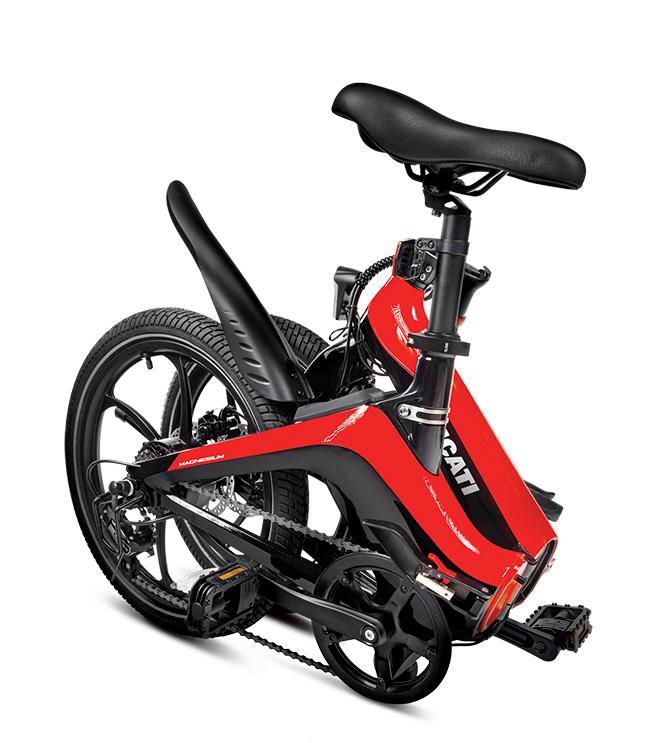 e-bike pieghevole ducati